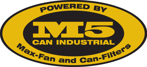 Can-Filter M5 Can Industrial Unit with 20″ Max-Fan